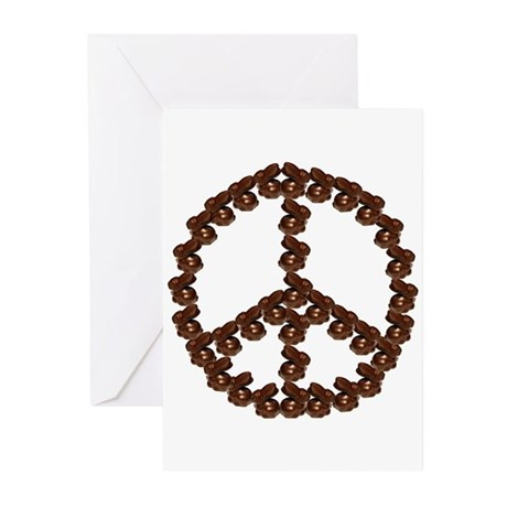 Peace by Chocolate Greeting Cards (Pk of 10)