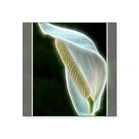 """Lighted Lily Square Sticker 3"""" x 3"""""""