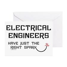 Electrical Engineers Sparks Greeting Cards (Packag