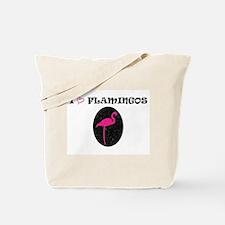 I Love Flamingos! Tote Bag