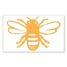 bee yellow Decal