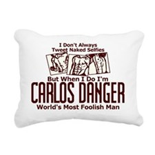 Carlos Danger Rectangular Canvas Pillow