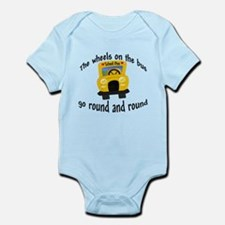 The wheels on the bus Baby/Toddler Bodysuit