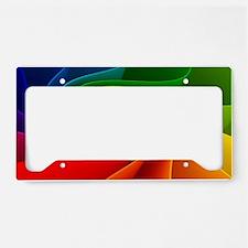 rainbow License Plate Holder