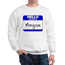 hello my name is megan Jumper