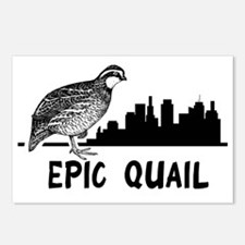 Epic Quail Postcards (Package of 8)
