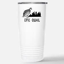 Epic Quail Stainless Steel Travel Mug