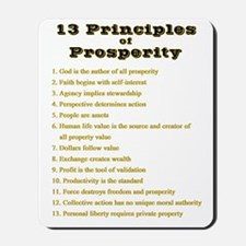 13 Principles Mousepad