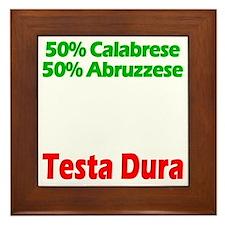 Calabrese - Abruzzese Framed Tile