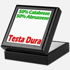 Calabrese - Abruzzese Keepsake Box