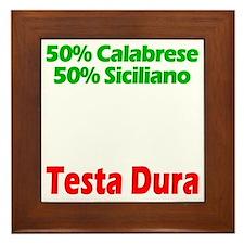 Calabrese - Siciliano Framed Tile