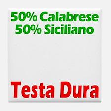 Calabrese - Siciliano Tile Coaster