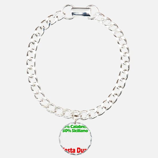 Calabrese - Siciliano Charm Bracelet, One Charm