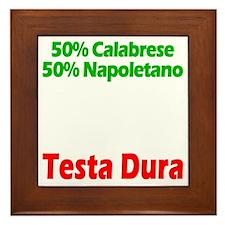 Calabrese - Napoletano Framed Tile