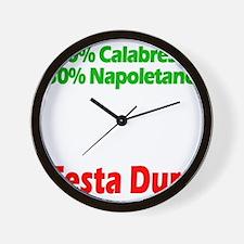 Calabrese - Napoletano Wall Clock