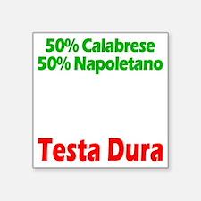 """Calabrese - Napoletano Square Sticker 3"""" x 3"""""""