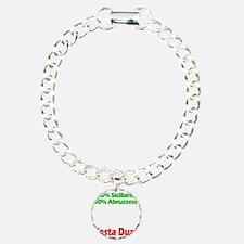 Siciliano - Abruzzese Charm Bracelet, One Charm
