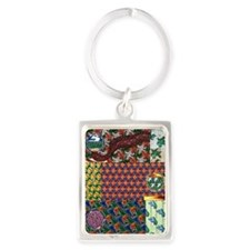 When Birds Fly Portrait Keychain