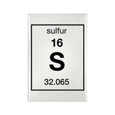 Sulfur Rectangle Magnet