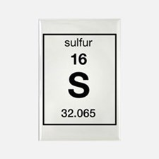 Sulfur Rectangle Magnet