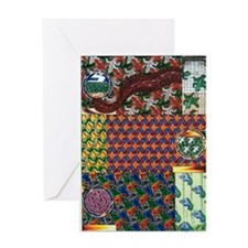 when birds fly Greeting Card