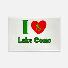 I Love Lake Como Italy Rectangle Magnet