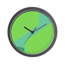 100% Perfect Green Wall Clock