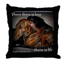 Love-Life Throw Pillow