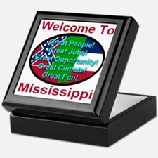 Welcome to Mississippi Keepsake Box