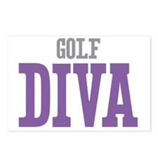 Golf DIVA Postcards (Package of 8)