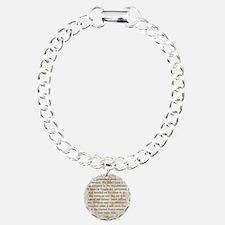 Ronald Reagan Charm Bracelet, One Charm