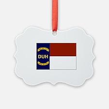 North Carolina DUH Flag Ornament