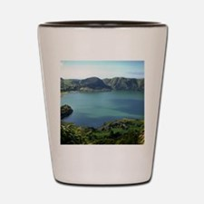 Sete Cidades Lagoon in S. Miguel, Azore Shot Glass