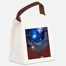 Star Trek Art Curtain Canvas Lunch Bag