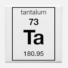 Tantalum Tile Coaster