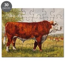 Hereford Bull The Champion Puzzle