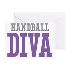 Handball DIVA Greeting Card