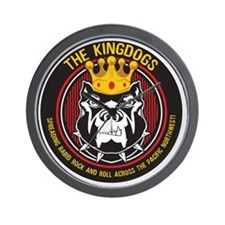 Kingdogs Logo Wall Clock