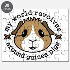 My World Revolves Around Guinea Pigs Puzzle
