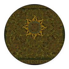 Ancient Sun - 03 Round Car Magnet