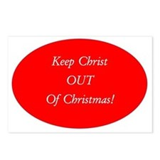 Keep Christ OUT of Christ Postcards (Package of 8)