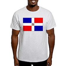 Cute Dominican republic flag T-Shirt