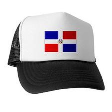 Cute Dominican republic flag Trucker Hat