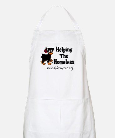 helping the homeless BBQ Apron