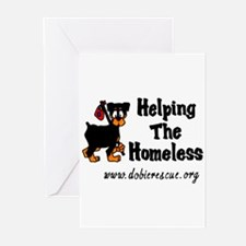 helping the homeless Greeting Cards (Pk of 10)