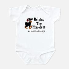 helping the homeless Infant Bodysuit