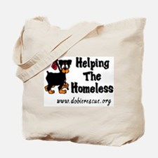 helping the homeless Tote Bag