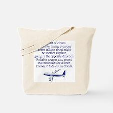Cute Aviation Tote Bag