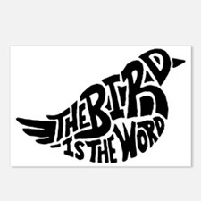 The Bird is the Word  Postcards (Package of 8)