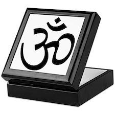 Yoga Ohm, Om Symbol Keepsake Box